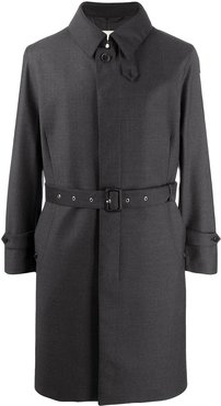 Downfield belted coat - Grey
