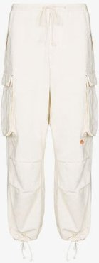 Peace drawstring trousers