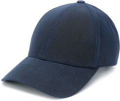 logo plaque baseball cap - Blue