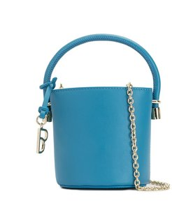 mini bucket bag - Blue