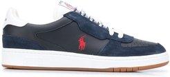 low-top cupsole sneakers - Blue