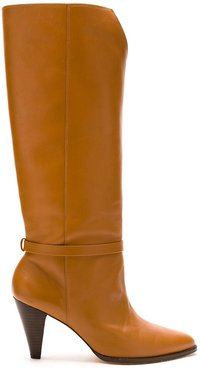 leather Bia boots - Brown