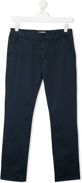 TEEN slim fit chino trousers - Blue