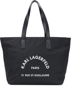 Rue St Guillaume tote - Black