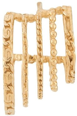 I Play linked-effect earring - GOLD