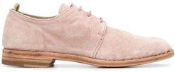 Oliver almond toe brogues - PINK