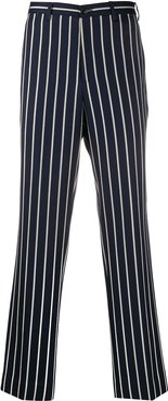 striped tailored trousers - Blue