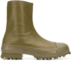ankle length rain boots - Green