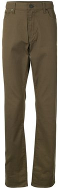 straight-leg trousers - Green