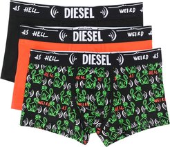 Weird as Hell set-of-three briefs - Black
