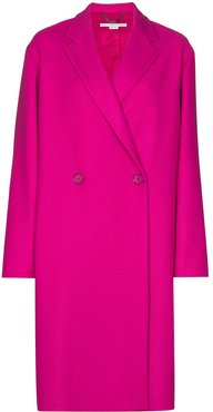 Blackwood double-breasted coat - PINK