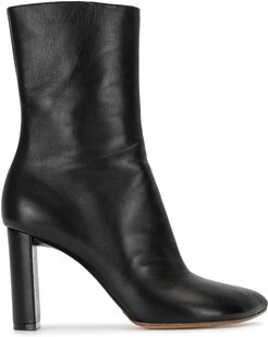 pointed toe ankle boots - Black