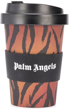 tiger stripe thermal cup - Black