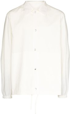 water-repellent cotton jacket - White