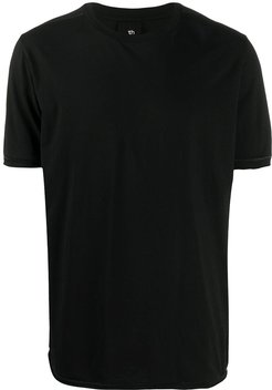 short-sleeve fitted T-shirt - Black