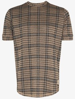 kingsdale prince of wales check T-shirt