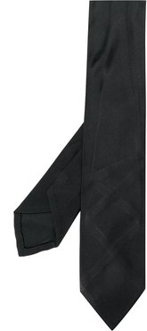 1990s pointed tie - Black