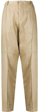 tailored chino trousers - Neutrals