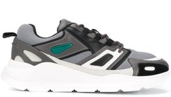 Futura panelled chunky sneakers - Grey