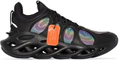 Arc Ace holographic panel sneakers - Black
