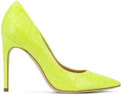 110mm pointed pumps - Yellow