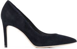 smooth pointed pumps - Blue