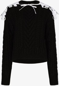 Monse cable knit jumper