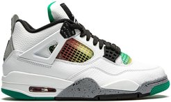 Air Jordan 4 Retro rasta - lucid green - White