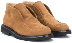 slip-on ankle boots - Brown