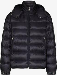 Removable hood padded jacket