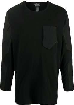 crew neck jumper - Black