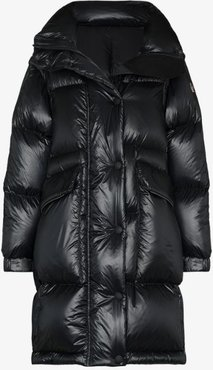 Entreves removable sleeve puffer coat