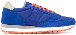panelled low-top sneakers - Blue