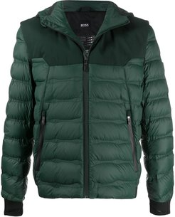 quilted padded jacket - Green