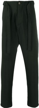 Ron checkered trousers - Green