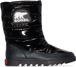 Joan of Arctic puffer boots - Black