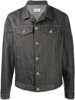 charcoal grey denim jacket