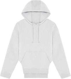 Rounded cutout hoodie - Grey