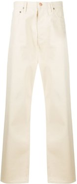 x TWC relaxed-fit jeans - White