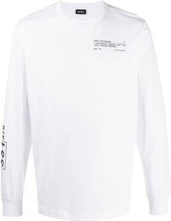 Only The Brave sweatshirt - White
