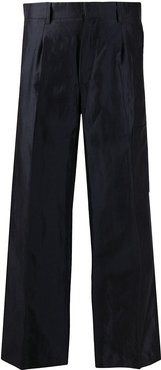 Tess flared trousers - Blue