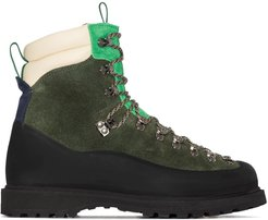 Everest suede hiking boots - Green