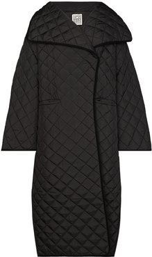 Annecy quilted padded coat - Black