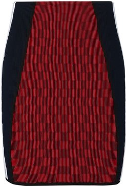 x Paolina Russo mini skirt - Red