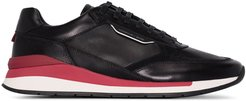 Element leather running sneakers - Black