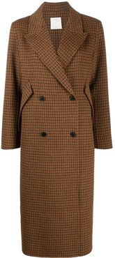 Merry double-breasted coat - Brown
