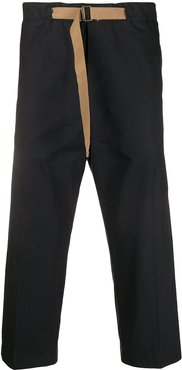 Concept cropped trousers - Black