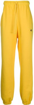 elasticated track trousers - Yellow
