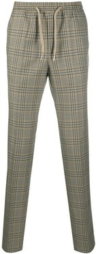 Alpha checked trousers - Neutrals