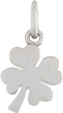 18kt white gold One In A Million four-leaf clover pendant - SILVER